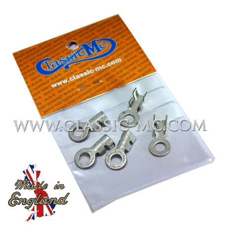 TERMINAL, RING 5 MM UN-ISOLATED 5 PCS