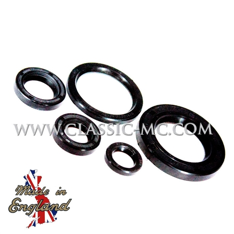 OIL SEAL SET, BSA A50/A65 1962-73