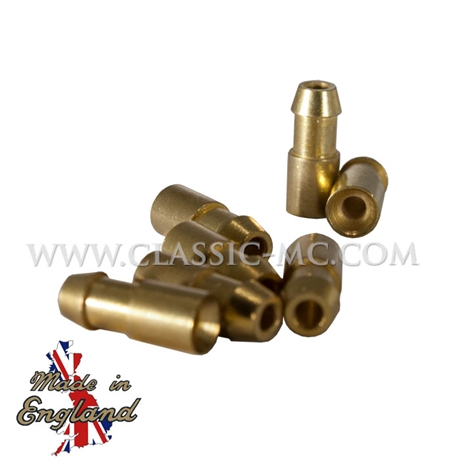 TERMINAL, LUCAS BULLET 1 MM 5 PCS BRASS